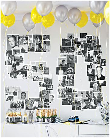 Idea para decorar el cumplea os de un adulto - Fotos 50 cumpleanos ...