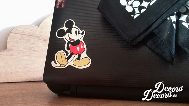 Decorar con Mickey Mouse.