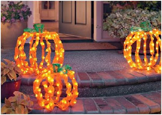 decoracion exterior halloween