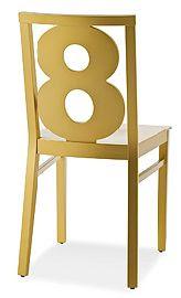 sillas con numeros