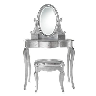 tocador romantico en plata