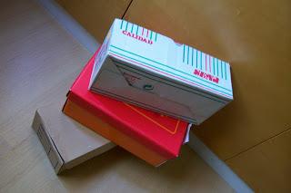 cajas de zapatos decoradas