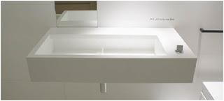 lineas rectas en el baño para conseguir mayor espacio visual