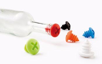 tapones para botella con orignal forma de tornillo