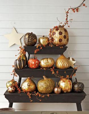 decorar calabazas en halloween