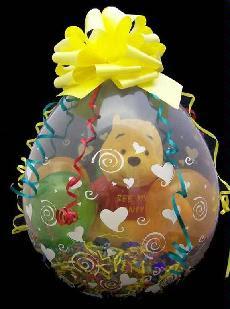 envolver un regalo de forma original metiendolo en un globo