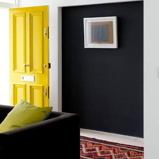 idea para combinar colores para decoracion amarillo y gris