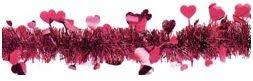 guirnaldas para decorar tiendas en san valentin