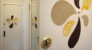 idea para decorar con telas