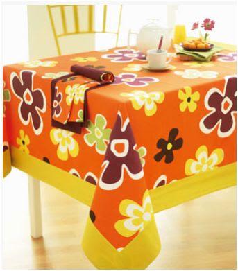 mantel para vestir la mesa en priamvera
