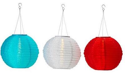 decorar e iluminar el exterior con lamparas solares