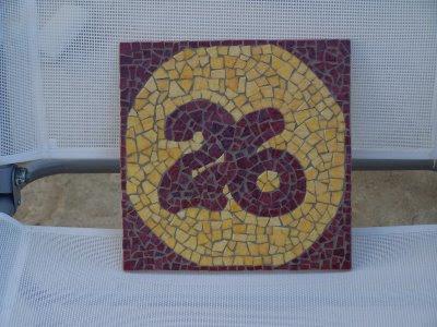 mosaicos para poner el numero de puerta en la fachada