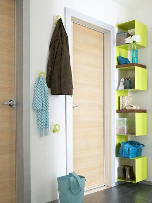 decorar una entrada sin recibidor o un recibidor pequeño