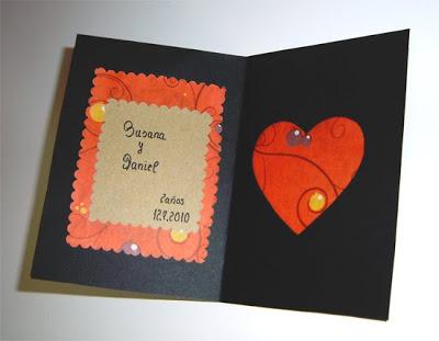diy hazlo tu mismo tarjeta de felicitacion corazon