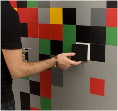 decorar paredes con revestimiento removible