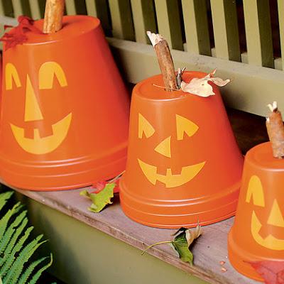 manualidad calabazas reciclar y decorar en halloween