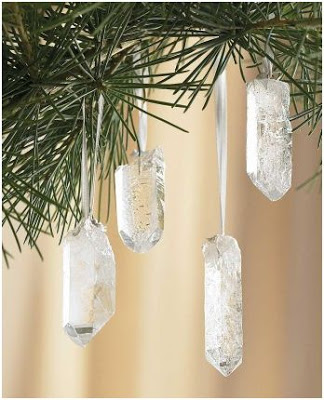 piedras como adornos para el arbol de navidad