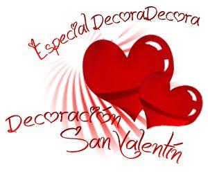 decoracion san valentin en decora decora