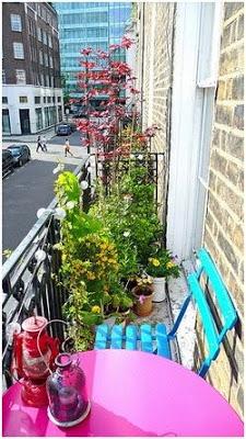 ideas para decorar un balcon