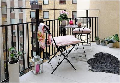 decorar el balcon