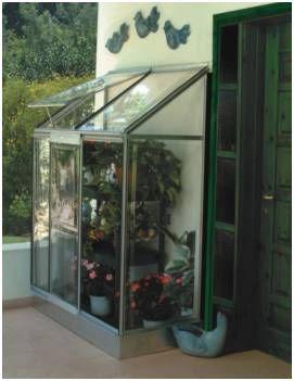 decorar exterior con invernadero