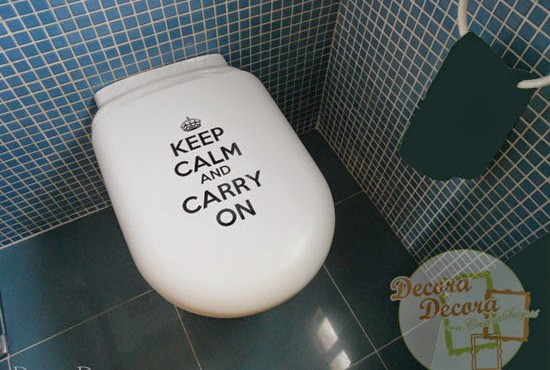 Decorar con Keep Calm and Carry On