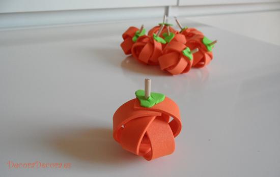 calabazas decorativas