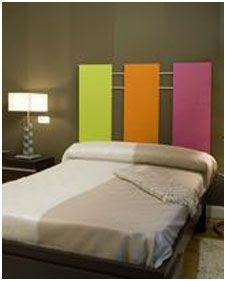 hacer nosotros mismos un cabecero de cama decorativo