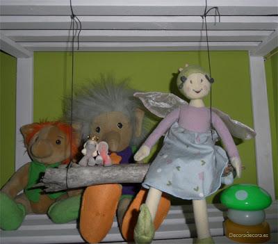 Cómo ordenar muñecos