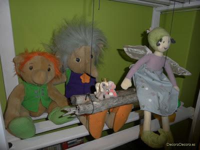 Ordenar muñecos idea
