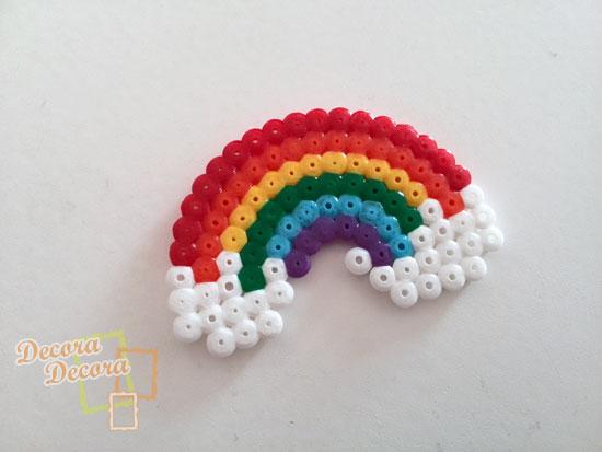 Decorar con un arcoíris