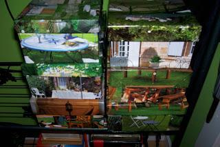cajas de zapatos que decoran