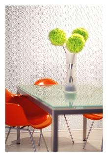 decorar paredes con paneles con relieve