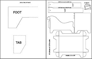 instrucciones para hacer un sofá de carton