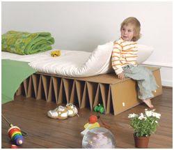 cama de carton itbed