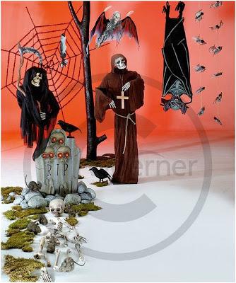 decoracion de tiendas para halloween
