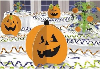 decorar el escaparate de una tienda por halloween