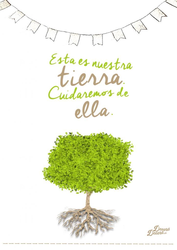 Lámina Día del Medio Ambiente.