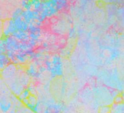 Pintar con burbujas.
