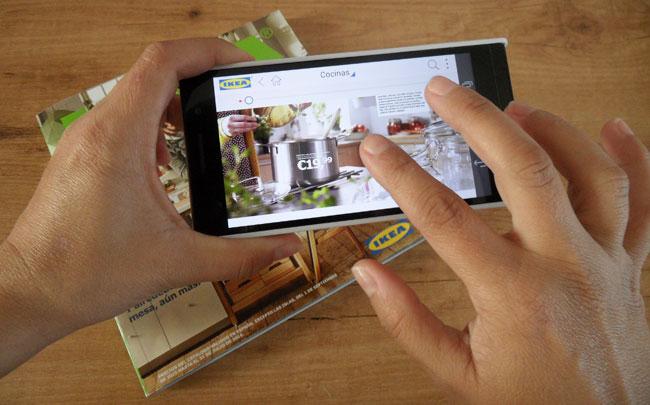 App catálogo IKEA