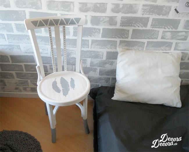 Pintar y decorar una silla