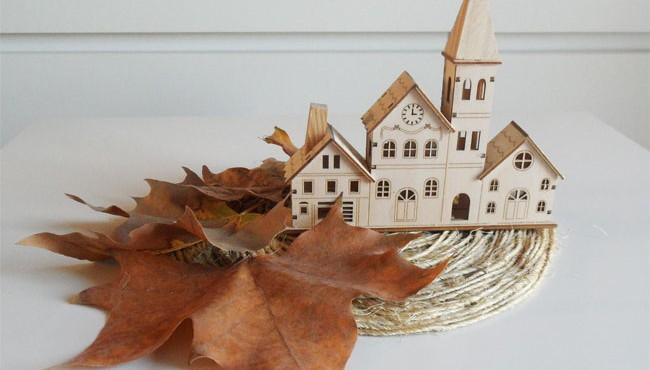 Centro de mesa de otoño