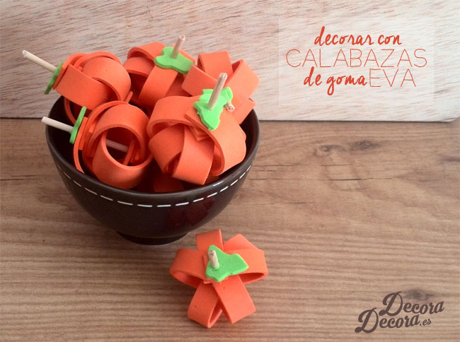 Calabazas para decorar