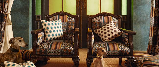 Textiles Etnia de Pepe Peñalver en Leroy Merlin