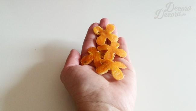 Decoración mandarina