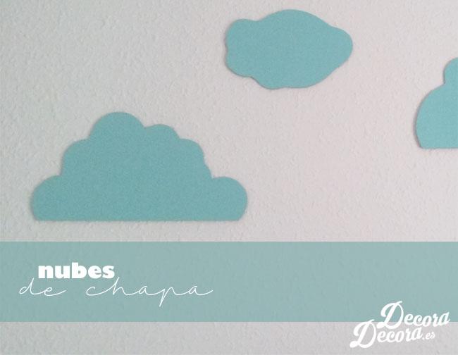 Decorar con nubes