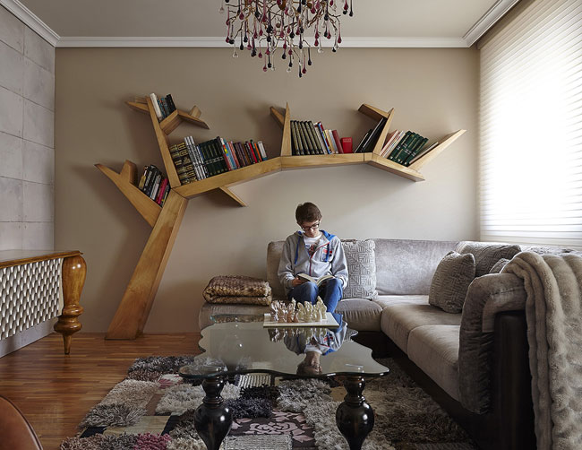 Librería árbol