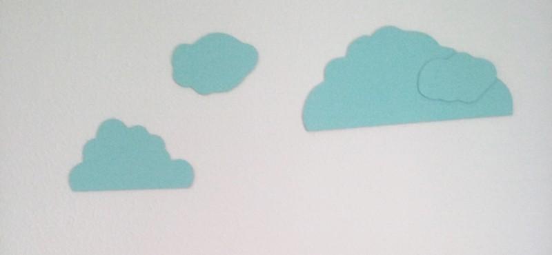 Nubes decorativas