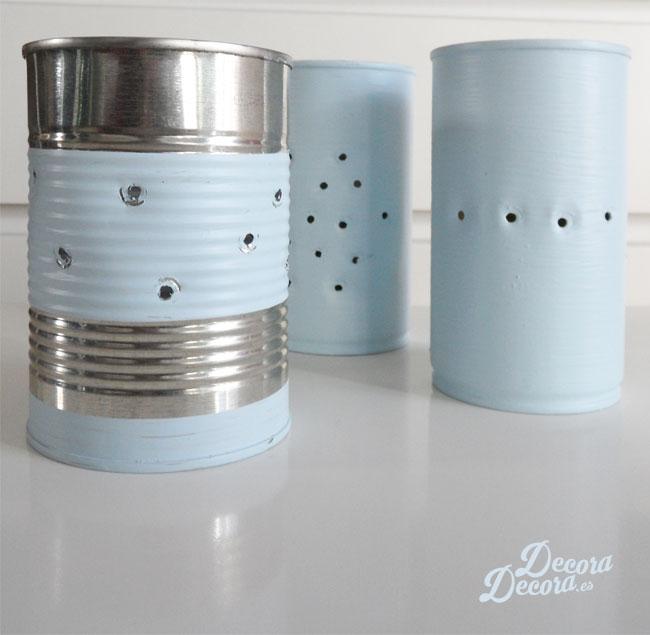 Idea para reciclar latas