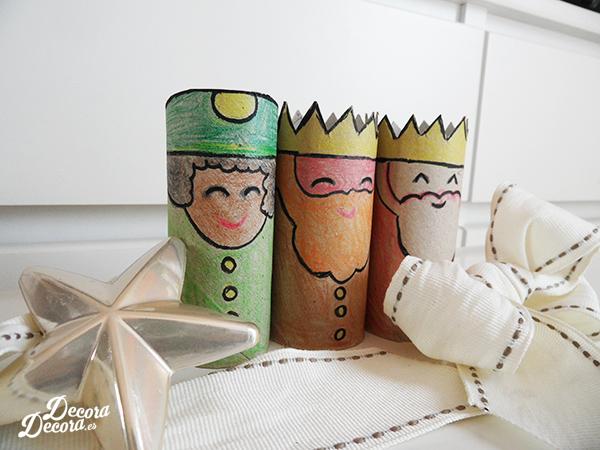 Tres Reyes Magos decoración